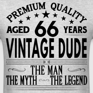 VINTAGE DUDE AGED 66 YEARS T-Shirts - Men's T-Shirt