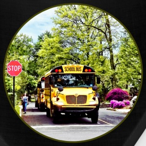 School Buses At Stop Sign Caps - Bandana