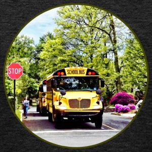 School Buses At Stop Sign Sweatshirts - Kids' Premium Hoodie