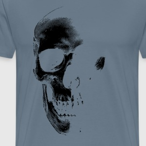 Distressed Skull 3 - Men's Premium T-Shirt