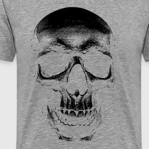 Distressed Skull 4 - Men's Premium T-Shirt