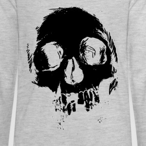 Distressed Skull - Kids' Premium Long Sleeve T-Shirt