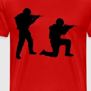 Soldiers Bold - Men's Premium T-Shirt