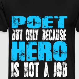 poet Hero - Men's Premium T-Shirt