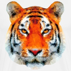 low poly tiger tshirt - Men's Premium T-Shirt