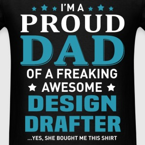 Design Drafter's Dad - Men's T-Shirt