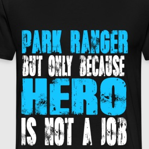 park ranger Hero - Men's Premium T-Shirt