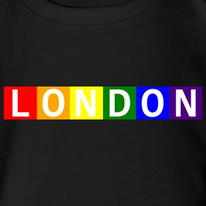 Baby London Pride Onesy - Short Sleeve Baby Bodysuit
