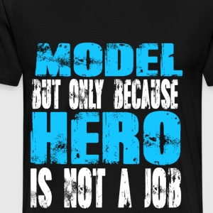 model Hero - Men's Premium T-Shirt