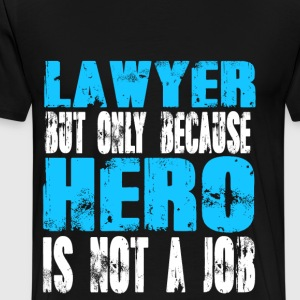 lawyer Hero - Men's Premium T-Shirt