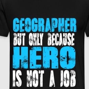 geographer Hero - Men's Premium T-Shirt