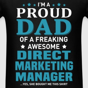 Direct Marketing Manager's Dad - Men's T-Shirt