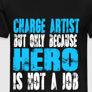 charge artist Hero - Men's Premium T-Shirt