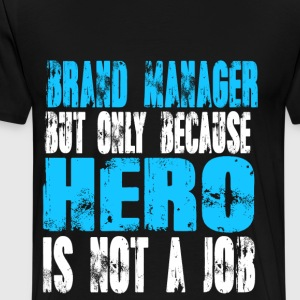 brand manager Hero - Men's Premium T-Shirt