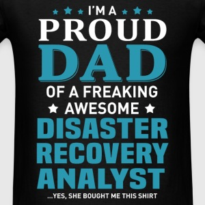 Disaster Recovery Analyst's Dad - Men's T-Shirt