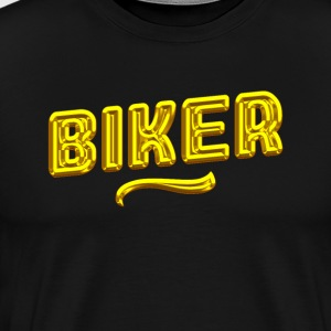 Gold Biker - Men's Premium T-Shirt