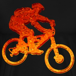 Flammen Biker - Men's Premium T-Shirt