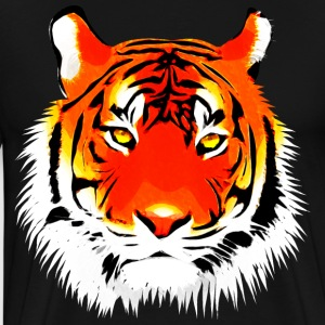 Tigerkopf - Men's Premium T-Shirt