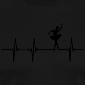 Ballerina pulse - Men's Premium T-Shirt