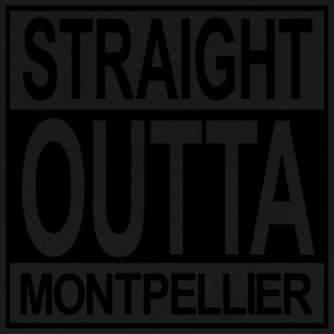 Straight outta Montpellier - Men's Premium T-Shirt