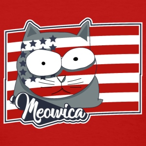 FREEDOM CAT FLAG Meowica Patriot Shirt T-Shirts - Women's T-Shirt
