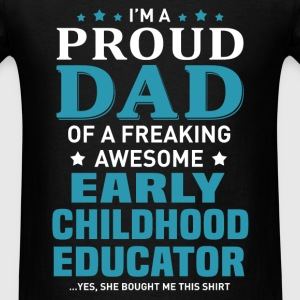 Early Childhood Educator's Dad - Men's T-Shirt
