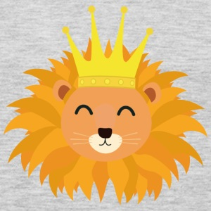 Lion head with crown Sn066 Long Sleeve Shirts - Men's Premium Long Sleeve T-Shirt