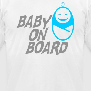 baby on board - Men's T-Shirt by American Apparel