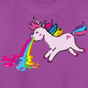 puking unicorn - Kids' Premium T-Shirt
