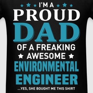 Environmental Engineer's Dad - Men's T-Shirt