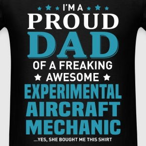Experimental Aircraft Mechanic's Dad - Men's T-Shirt
