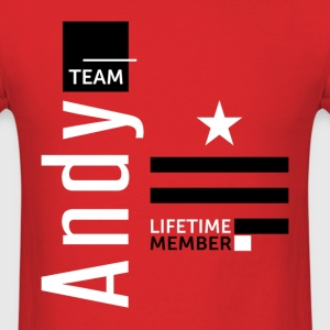 Team Andy - Men's T-Shirt