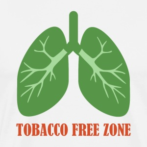 Tobacco Free Zone - Men's Premium T-Shirt