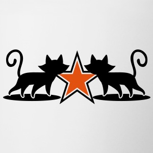 military army cats with 5 point star Accessories - Coffee/Tea Mug
