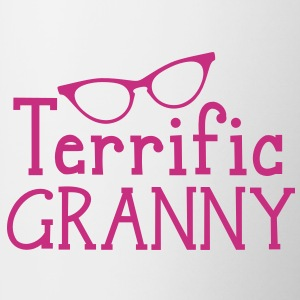terrific granny with funky cats eyes glasses Accessories - Coffee/Tea Mug