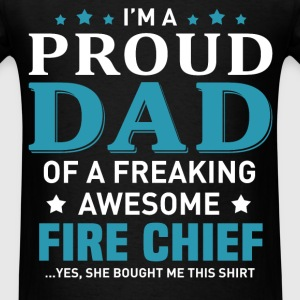 Fire Chief's Dad - Men's T-Shirt