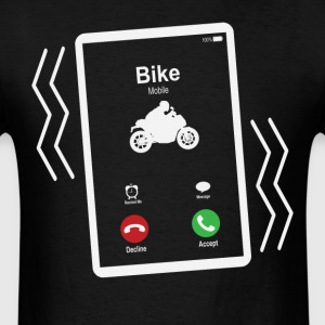 Bike Mobile 2 is Calling Mobile T-Shirts - Men's T-Shirt
