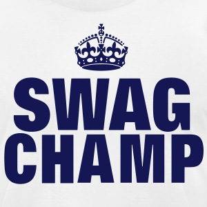 SWAG CHAMP T-Shirts - Men's T-Shirt by American Apparel