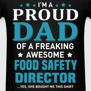 Food Safety Director's Dad - Men's T-Shirt