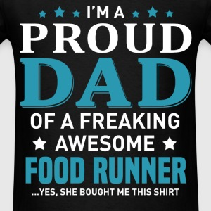 Food Runner's Dad - Men's T-Shirt