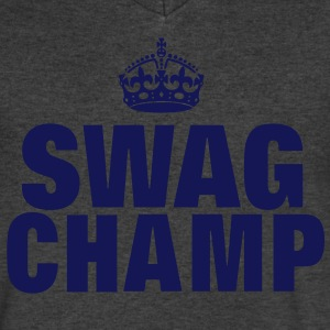 SWAG CHAMP T-Shirts - Men's V-Neck T-Shirt by Canvas