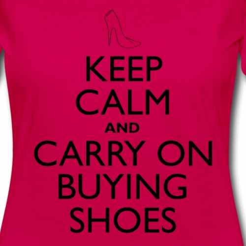 Keep Calm Buying Shoes
