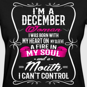 DECEMBER WOMAN T-Shirts - Women's T-Shirt
