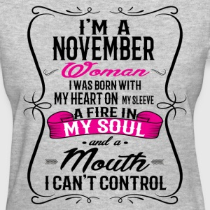 NOVEMBER WOMAN T-Shirts - Women's T-Shirt