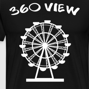 360 View Ferris Wheel Amusement Park T-Shirt T-Shirts - Men's Premium T-Shirt
