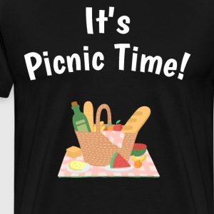 It's Picnic Time Spring Summertime Feast T-Shirt T-Shirts - Men's Premium T-Shirt