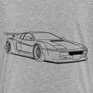 cool car outlines Kids' Shirts - Kids' Premium T-Shirt
