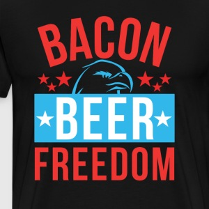 Beer Bacon Freedom - Men's Premium T-Shirt