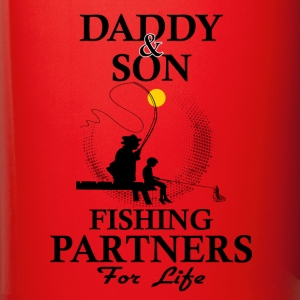 Daddy And Son Fishing Partners For Life Mugs & Drinkware - Full Color Mug