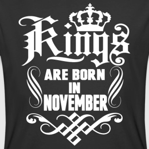 Kings are born in November birthday t-shirt - Men's 50/50 T-Shirt